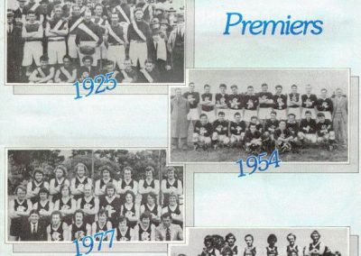 Premierships 1925, 1954, 1977, 1978