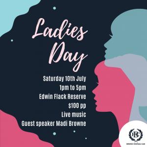 Berwick Football Club Ladies Day 10 July 2021