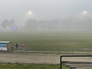 Berwick Football Club Fog 10 July 2021