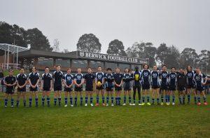 Berwick Football Club Sockit2MND 10 July 2021